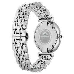 Emporio Armani Black Dial Silver S/Steel Chronograph Men's Quartz Watch AR1676