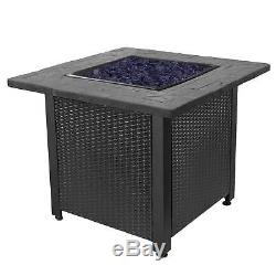 Endless Summer 30 Push Button Start All Weather Outdoor Patio LP Gas Fire Pit