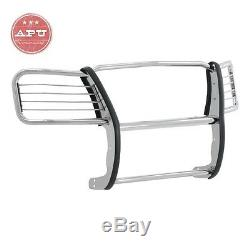 FINAL SALE 02-04 Jeep Liberty 1-Piece Stainless Grille Guard Bumper Push Bar