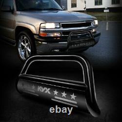 FOR 99-06 GMC Sierra 1500/Chevy Silverado 1500 BULL BAR PUSH BUMPER GRILLE GUARD