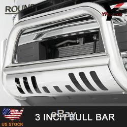 Fit 2001-2007 GMC SIERRA Chevy Silverado CLASSIC 1500/2500HD Bull Bar Brush Push