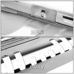 Fit 99-07 Chevy Silverado/Sierra 1500 Chrome Bull Bar Push Bumper Grille Guard