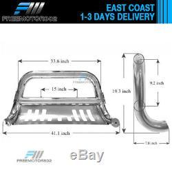 Fits 02-05 Dodge Ram 1500 03-09 Dodge Ram 2500 3500 06-08 Ram Bull Bar Grille