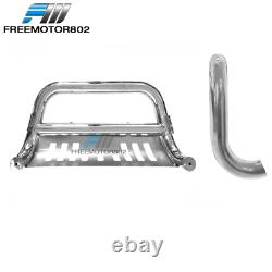 Fits 05-07 Ford F250 F350 F450 Super Duty Front Bumper Brush Push Grille Guard