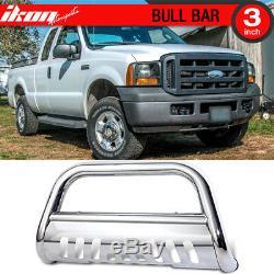 Fits 05-07 Ford F250 F350 F450 Super Duty Ss Bull Bar Grill Guard Front Bumper