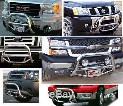 Fits 06-15 Honda Ridgeline Bull Bar Guard Push 2006-2015 Chrome Stainless Steel
