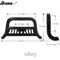 Fits 10-16 Dodge Ram 2500 3500 Black Bull Bar Front Bumper Grille Guard