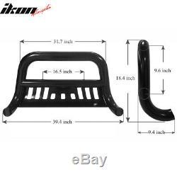 Fits 11-17 Silverado GMC Sierra 2500HD 3500HD Bull Bar Front Bumper Grill Guard