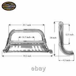 Fits 15-17 Chevy Colorado SS Bull Bar Front Bumper Brush Push Grille Guard