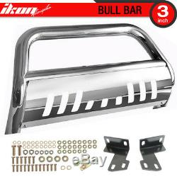 Fits 15-17 Chevy Colorado Ss Bull Bar Front Bumper Grille Guard