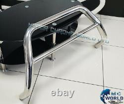 Fits Toyota Rav4 Chrome Nudge Push A-bar Stainless Steel Bull Bar 2000-2005 Nx1