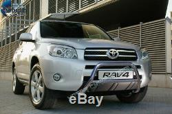 Fits Toyota Rav4 Chrome Nudge Push A-bar Stainless Steel Bull Bar 2006-2011 Nx1