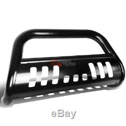 For 00-07 Toyota Tundra/sequoia Coated Ss Bumper Bull Bar Push Grille Skid Plate