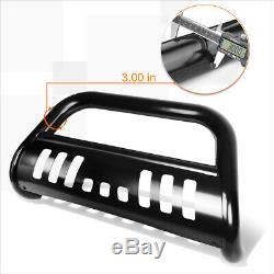 For 00-07 Tundra/Sequoia 3 Tube Bull Bar Front Push Bumper Grille Guard Black
