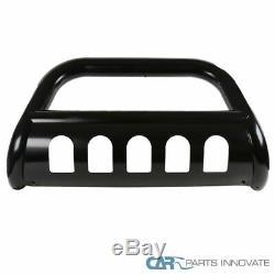 For 03-05 Ram 1500 03-09 2500/3500 3 Black Bull Bar Grill Push Guard+Skid Plate