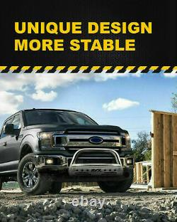 For 04-20 Ford F-150 Bull Bar Push Brush Front Bumper Grille Guard