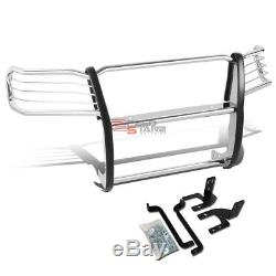For 05-15 Toyota Tacoma Stainless Steel Front Bumper Brush Guard Push Bull Bar