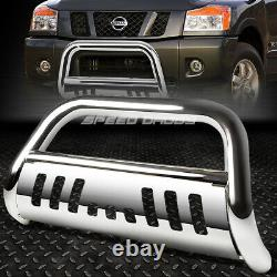 For 05-16 Nissan Frontier/pathfinder Chrome Bull Bar Push Bumper Grille Guard