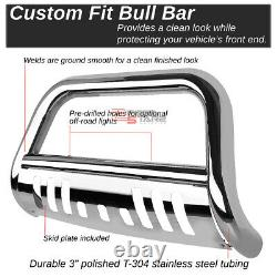 For 06-12 Rav4 Suv Black Tubing Front Bull Bar Push Bumper Grill Grille Guard