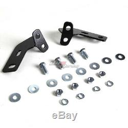 For 06-16 Toyota Rav 4/rav4 Suv Stainless Steel Black Bull Bar Push Grill Guard