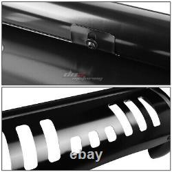 For 07-14 Toyota Fj Cruiser Stainless Steel Black Bull Bar Push Grill Guard Kit