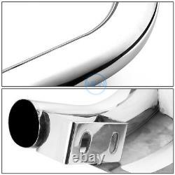 For 08-13 Toyota Highlander 3 Chrome SS Bull Bar Push Front Bumper Grille Guard
