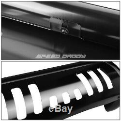 For 08-13 Toyota Highlander Xu40 Black 3 Bull Bar Push Bumper Grille Guard+skid