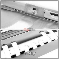 For 09-15 Honda Pilot Crossover Stainless Bumper Bull Bar Push Grille Skid Plate