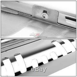 For 09-15 Honda Pilot Crossover Stainless Steel Chrome Bull Bar Push Grill Guard