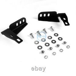 For 10-16 Toyota 4Runner 3 Chrome S/S Bull Bar Push Front Bumper Grille Guard