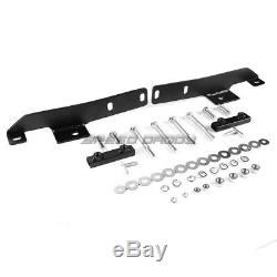 For 13-16 Nissan Pathfinder R52 Suv Black 3 Bull Bar Push Bumper Grille Guard