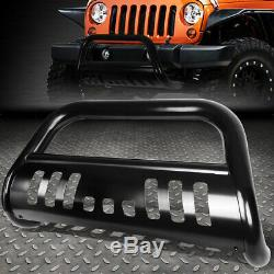 For 18-19 Jeep Wrangler Stainless Steel 3bull Bar Front Bumper Grill Push Guard