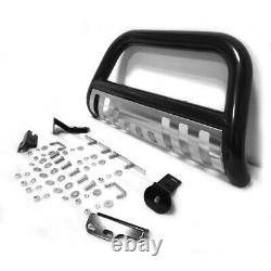 For 2004-2017 Ford F150 Stainless Steel Front Push Brush Bumper Bull Bar Guard