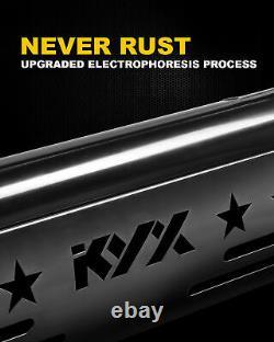 For 2004-2020 Ford F-150 Bull Bar Push Brush Bumper Grille Guard Black Steel