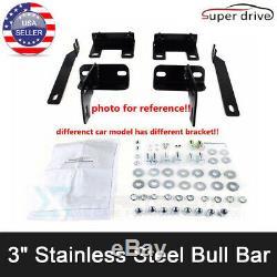 For 2005-2007 Ford F250 F350HD Superduty Bull Bar Brush Push Bumper Grill Guard