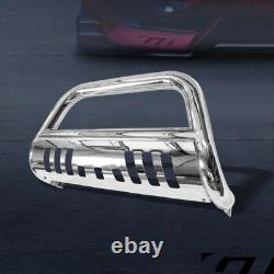 For 2006-2008 Dodge Ram 1500 Chrome S/S Bull Bar Brush Push Bumper Grille Guard
