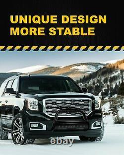 For 2007-2018 Silverado/GMC Sierra 1500 Bull Bar Push Front Bumper Grille Guard