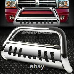 For 94-02 Dodge Ram 1500/2500/3500 Truck Chrome Bull Bar Push Bumper Grill Guard
