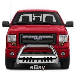 For 97-04 Ford F150/f250 Lightduty/expedition Chrome Bull Bar Push Bumper Guard