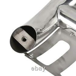 For 99-07 Chevy Silverado/sierra 1500 Chrome Bull Bar Push Bumper Grille Guard
