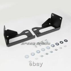For 99-07 Ford Superduty/excursion Suv Black 3bull Bar Push Bumper Grille Guard
