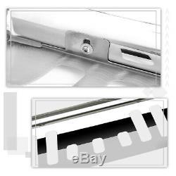 For 99-07 Silverado/Sierra 1500 3 Tube Bull Bar Push Bumper Grille Guard Chrome