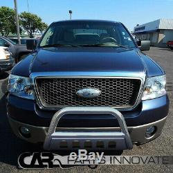 Ford 04-20 F150 03-17 Expedition 3 Stainless Steel Bull Bar Grille Push Guard