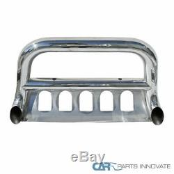 Ford 11-16 F250 F350 F450 F550 SD 3 Stainless Steel Bull Bar Grille Push Guard