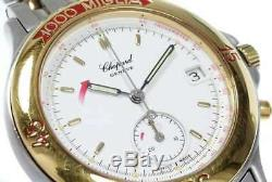 Free Shipping Pre-owned Chopard Mille Miglia One Push Chronograph 15/8154