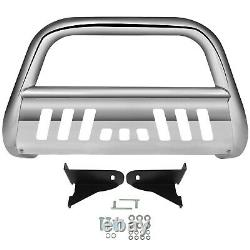 Front Bull Bar Push Bumper Grille Guard For Chevy Silverado 1500 GMC Sierra1500
