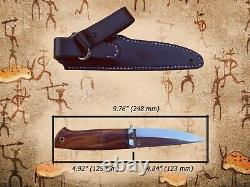 G. Dedyukhin Fixed Blade Hunting Knife Ethno M390 Handmade in Bark River Style
