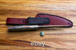 G. Dedyukhin Fixed Blade Hunting knife Persian M390 Handmade in Bark River Styl