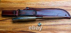 G. Dedyukhin Fixed REAL Hunting Knife Wolf M390 Handmade in Bark River Style