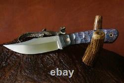 G. Dedyukhin The Real Hunting Knife Balem is Bulat Handmade Bark River Style